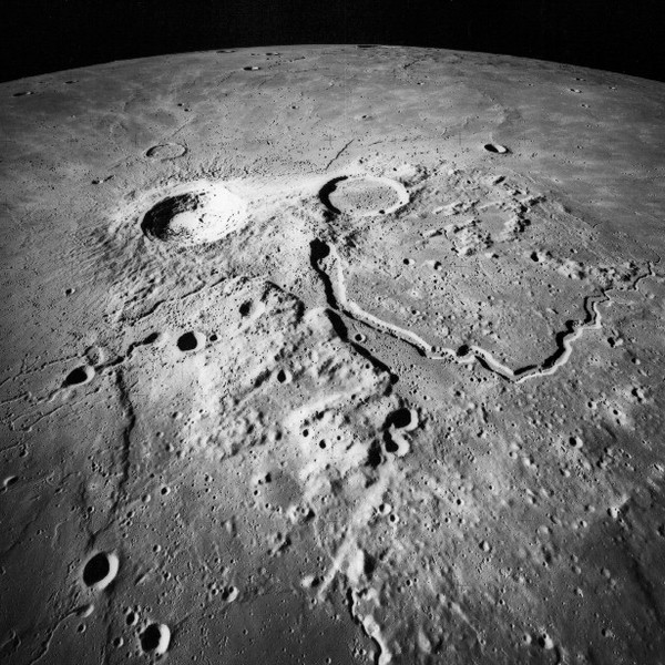 Apollo 15 aristarchus crater