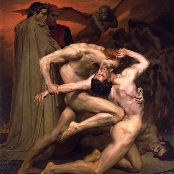 William bouguereau dante and virgil in hades 1339170668 b