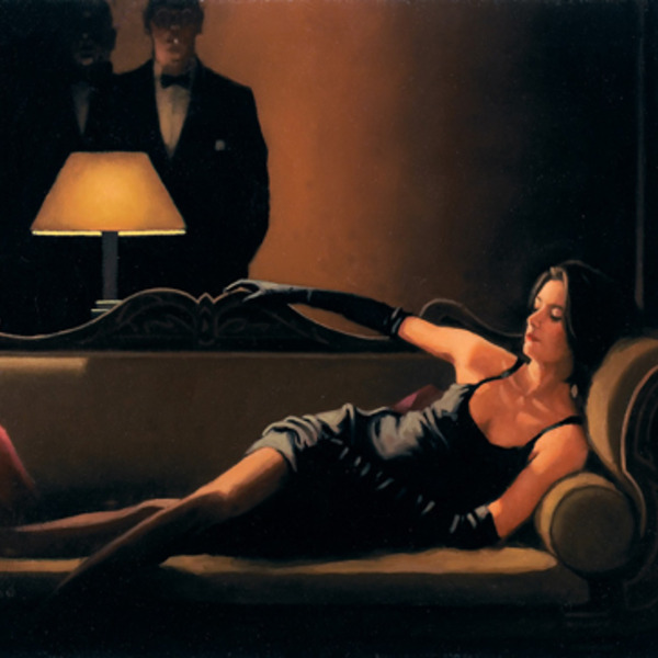Jv04004 jack vettriano along came a spider