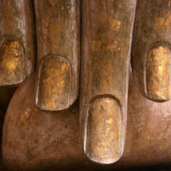 Carter frank the hands of buddha at wat si chum in sukhothai historical park sukhothai thailand
