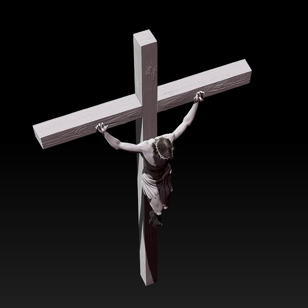 Crucifixion by ulisses7 d5frb8a