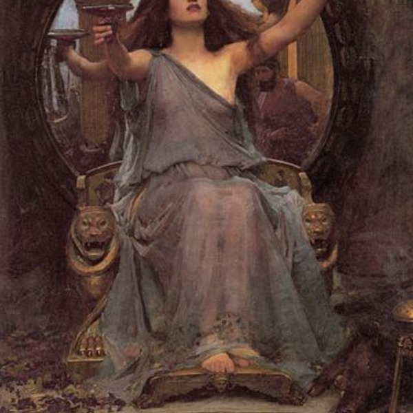 357px circe offering the cup to odysseus