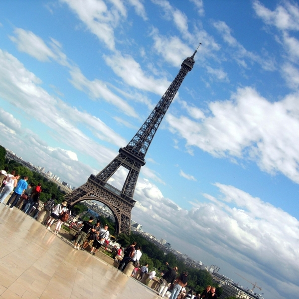 Eiffeltower paris trocadero 587200 h