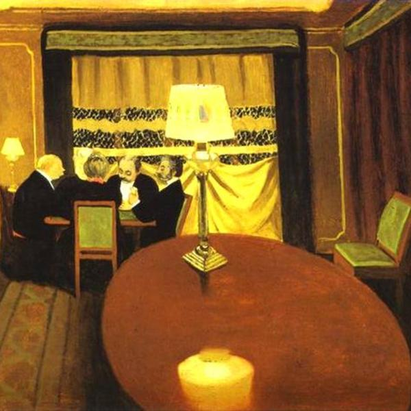 Poker felix vallotton