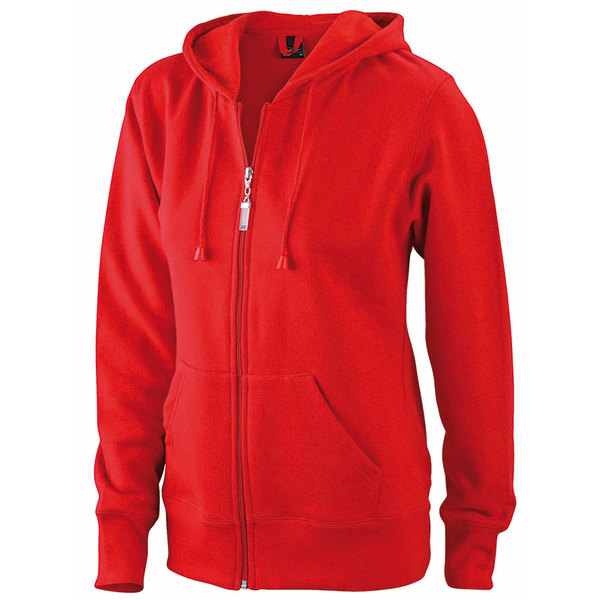 Sweat shirt rouge jn053