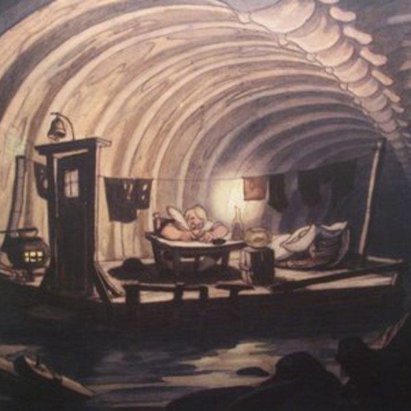 Welovewords obscur couloir gorge endormie par ellem jee - Baleine pinocchio ...