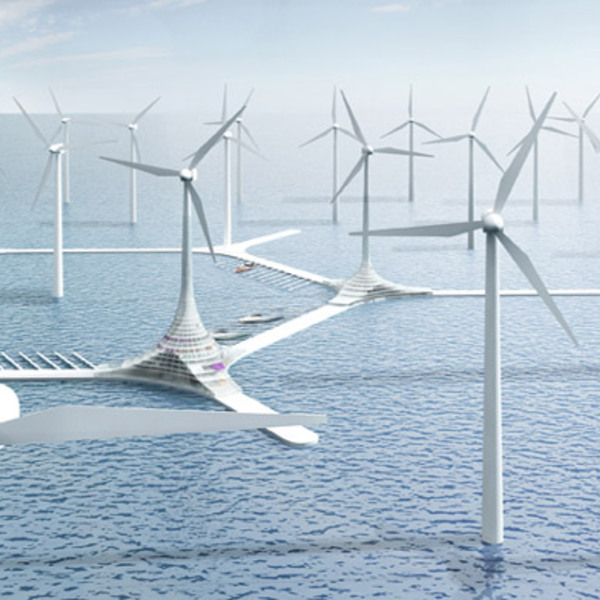 Turbine city la ville eolienne offshore 8