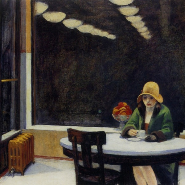 Edward hopper   automat restaurant   1927