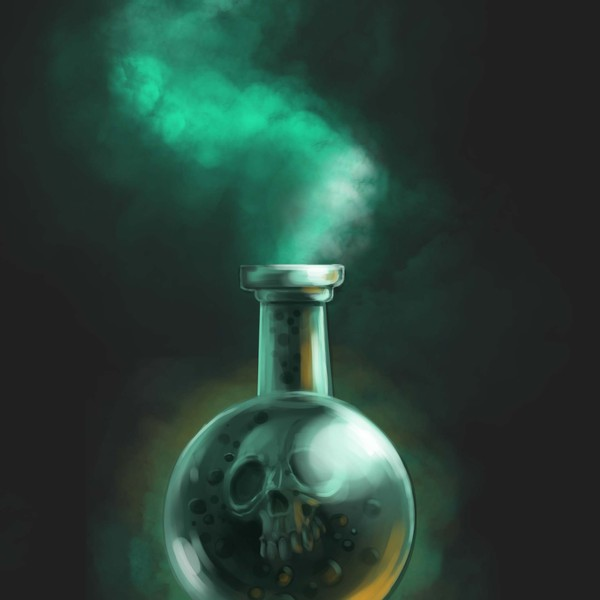 Poison bottle by tulwarr1 d3gxfjj