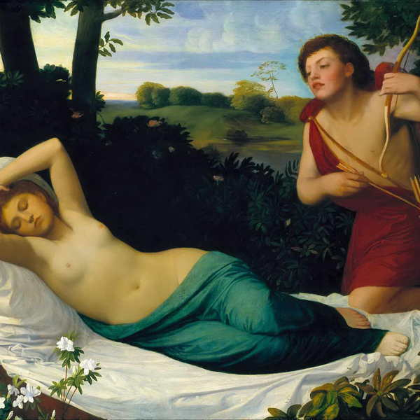 Alphonse legros   cupid and psyche  tate britain