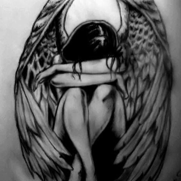 Fallen angel tattoo by emoanimegirlfanatic d6ik1sd