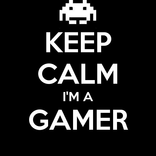 Keep calm i m a gamer 3