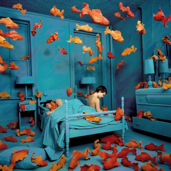 sandy skoglund  revenge of the goldfish  1981