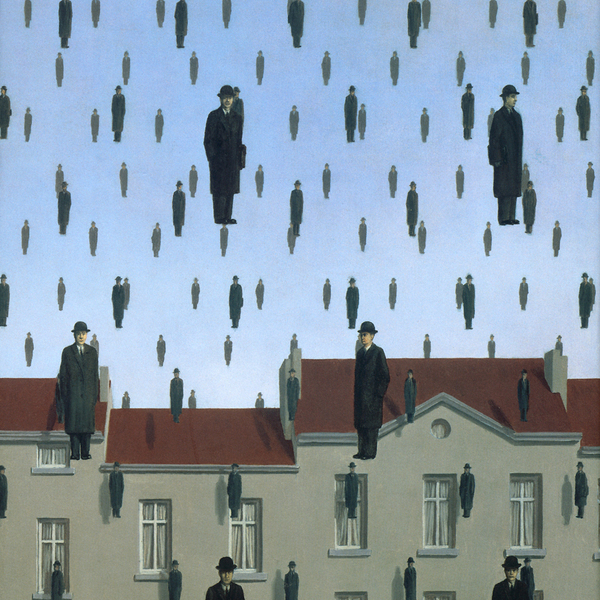 Rene magritte golconde 1953 48643566
