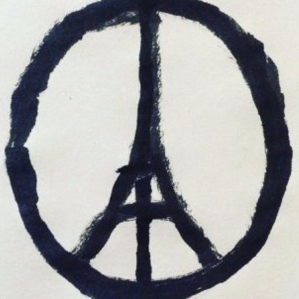 People are showing solidarity with paris by sharing this image on facebook twitter and instagram