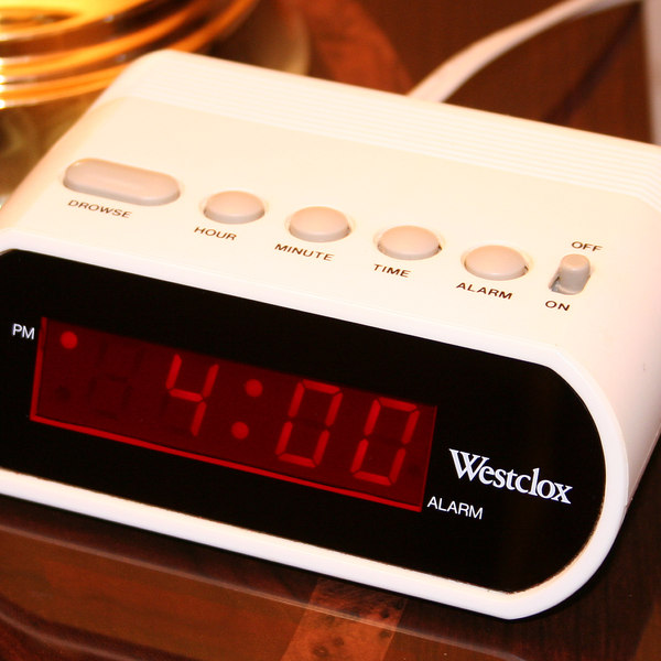 Digital clock alarm