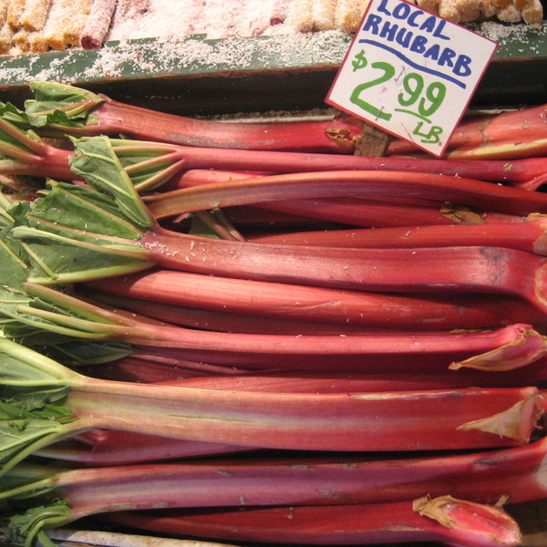 Rhubarb for sale in seattle