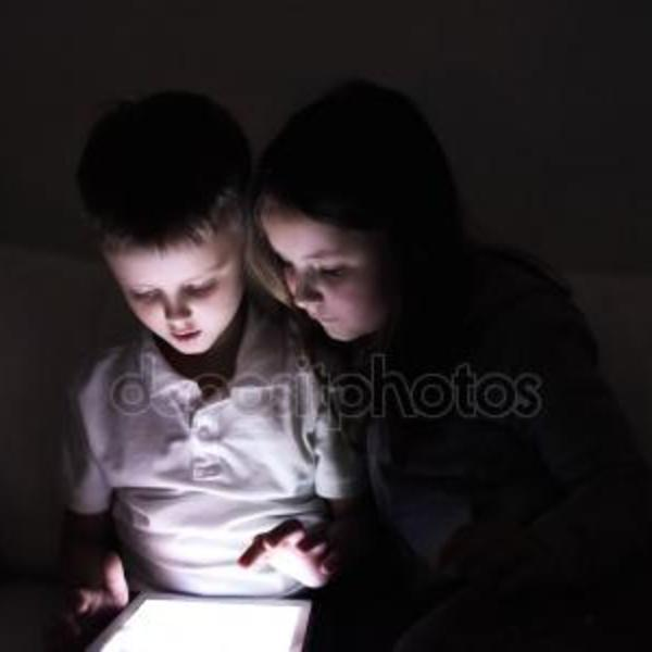 Depositphotos 115511824 stock photo two children sitting in a