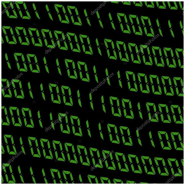 Depositphotos 88380330 stock illustration 01 digits vector wallpaper green