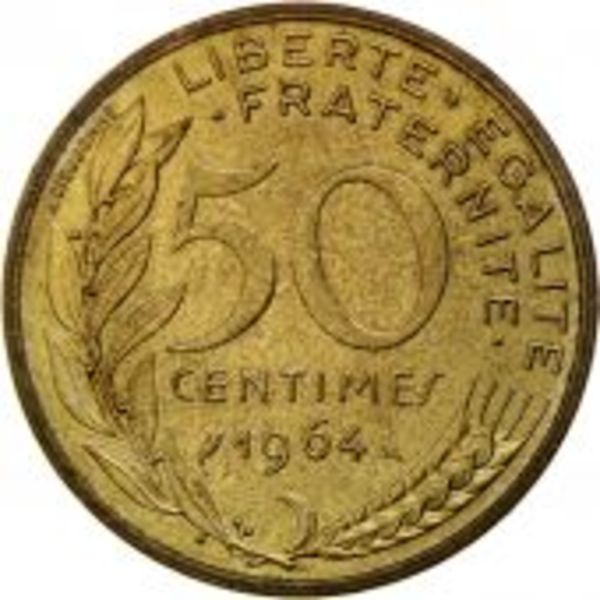460307 france marianne centimes 1964 paris spl aluminum bronze 939 revers