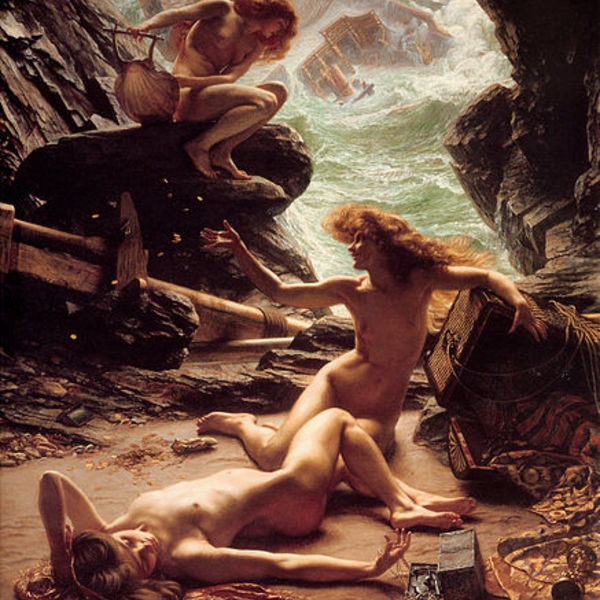 437px sir edward john poynter %e2%80%94 cave of the storm nymphs 1  1