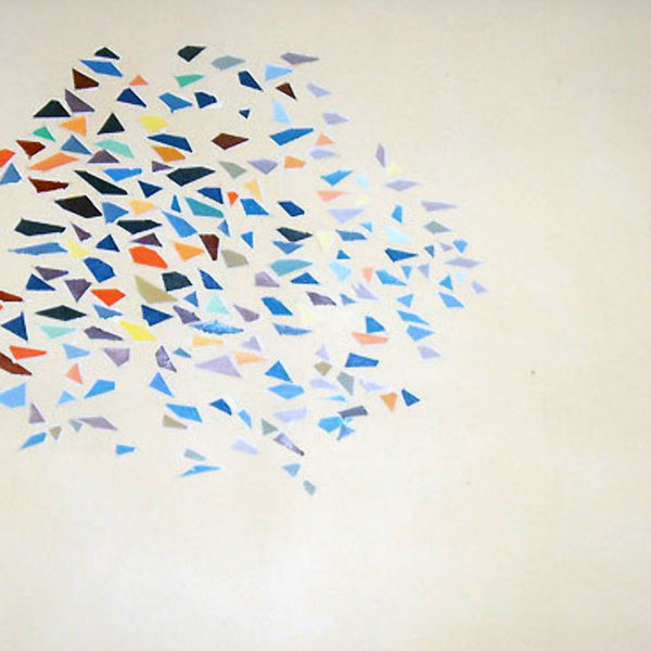 Robert goodnough color shapes 1975 38x48