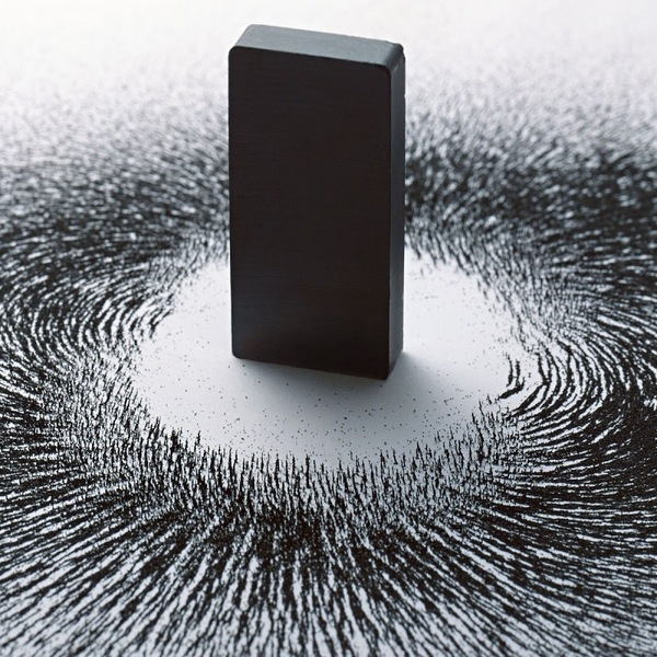 Artistic fields magnet magnets monolith