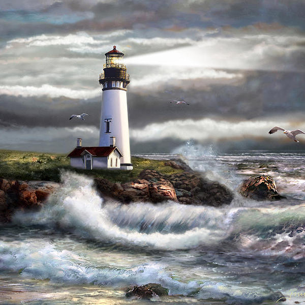 Oregon lighthouse beam of hope regina femrite