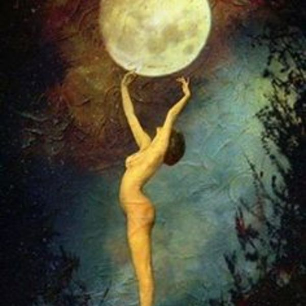 Lune femme