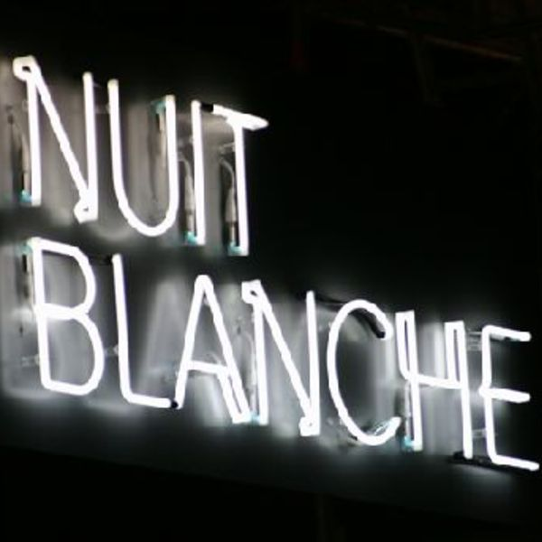 Nuit blanche lights