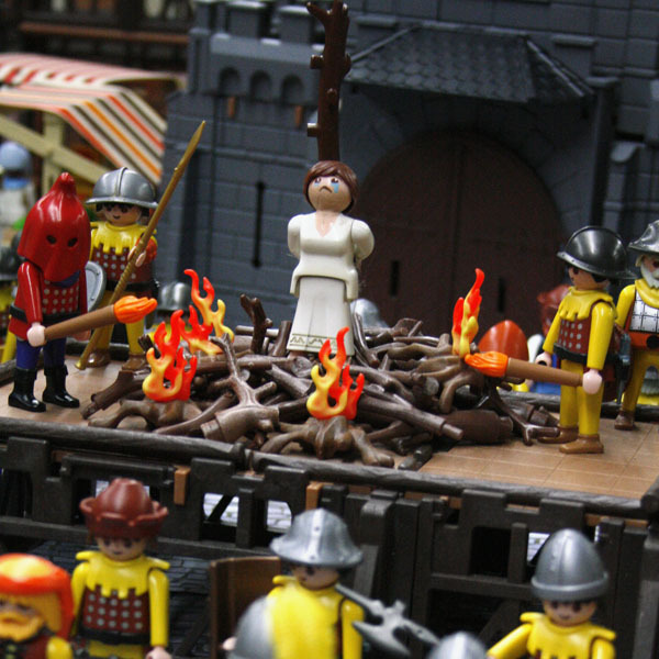Jeanne d arc playmobil 0