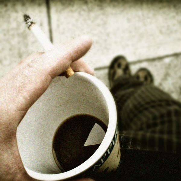 Coffee and cigarettes by duthied