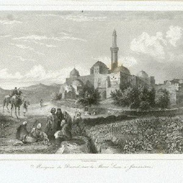 palestine antique prints