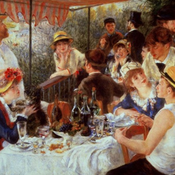 Auguste renoir luncheon of the boating 1
