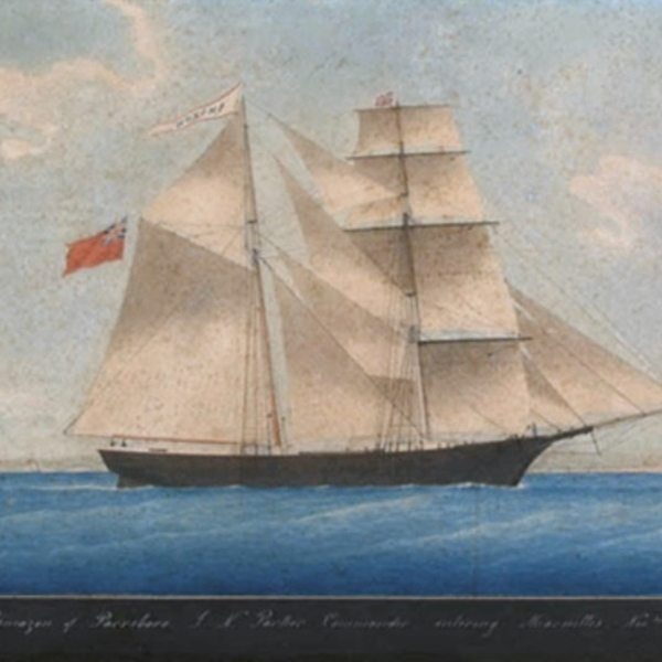 Mary celeste as amazon in 1861