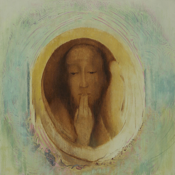 Odilon redon   silence 1911 54 6 x 54cm oil on paper moma