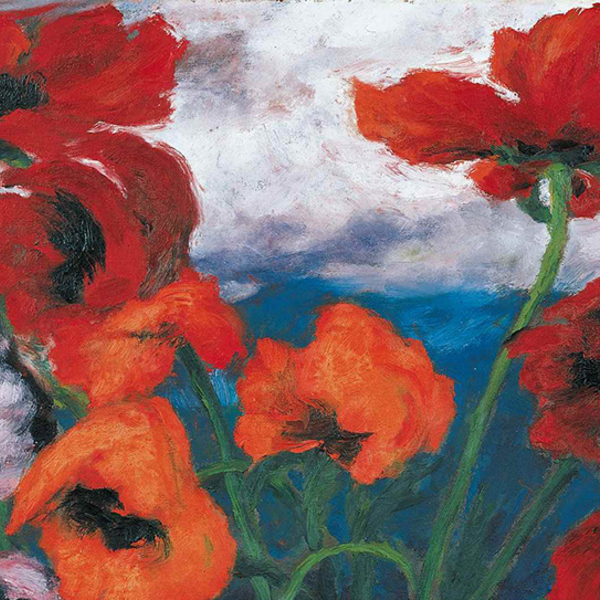 Emil nolde   large poppies  1942
