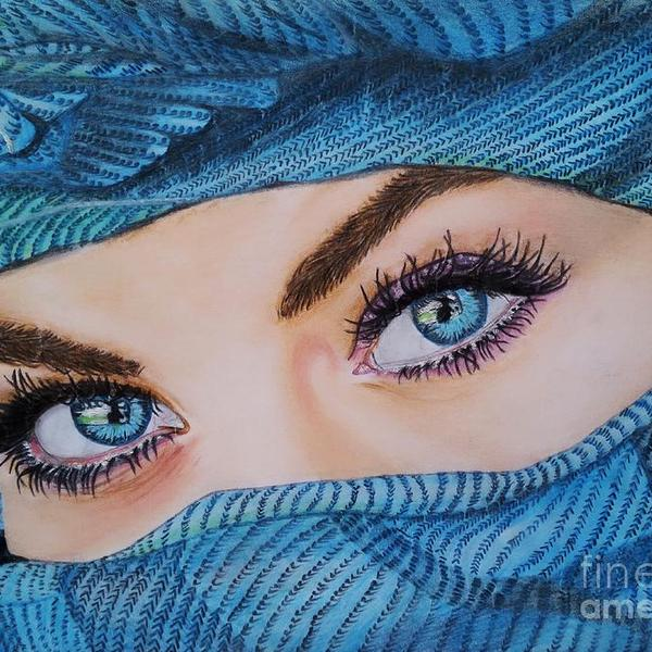 Blue eyes sadaf shah