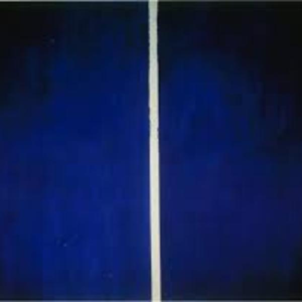 Blue couple  b newman
