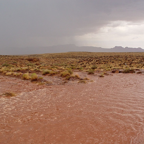Vermillion cliffs flash flood large
