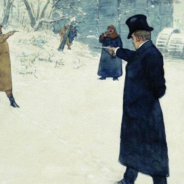 Yevgeny onegin by repin