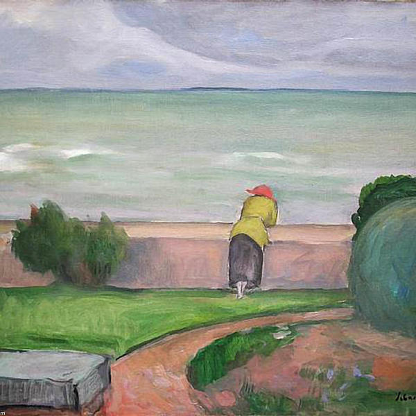 Henri lebasque view of the sea