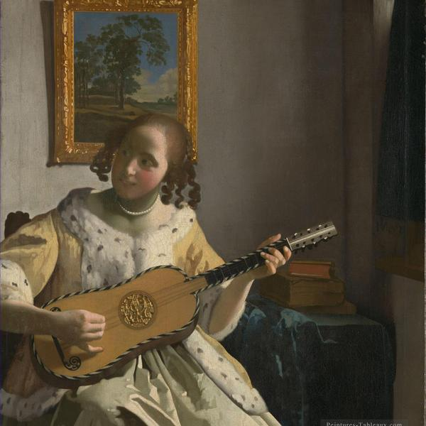 4 the guitar player baroque johannes vermeer