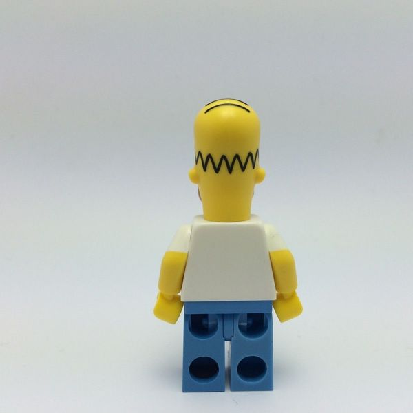 Lego simpsons homer back