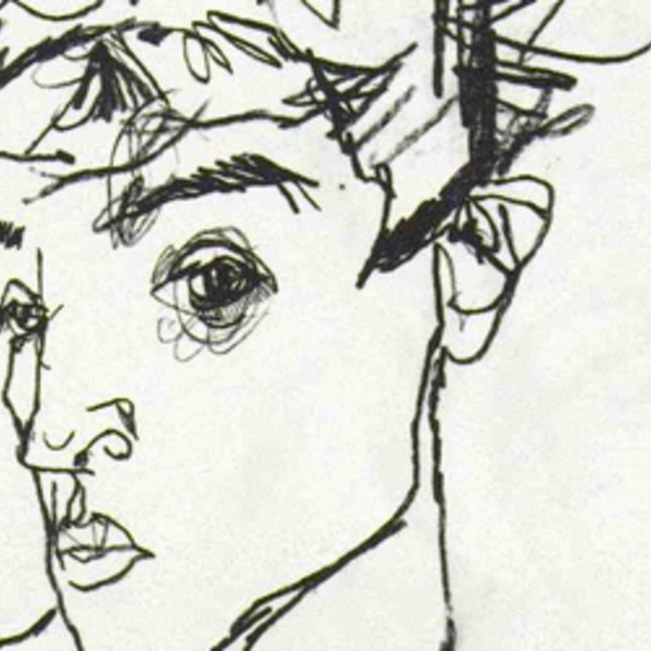 Schiele.self portrait 465